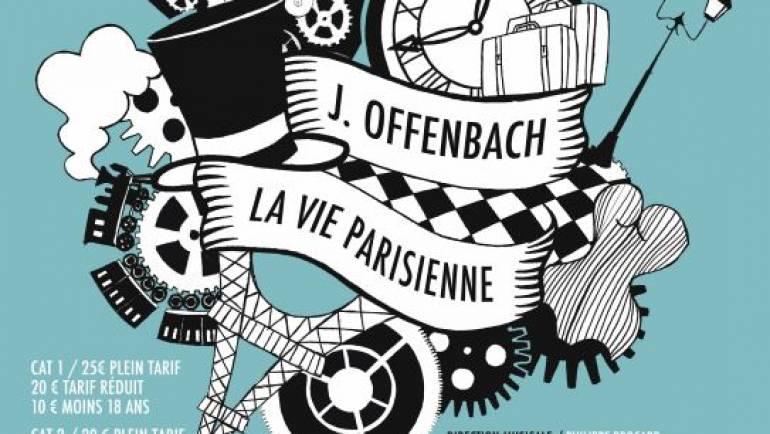 Estivales de Puisaye : «La Vie Parisienne» Opérette à Paris les 14 et 15 octobre