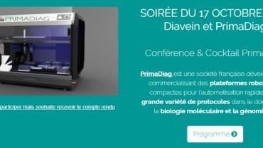 Biotech Agora reçoit PrimaDiag et Diavein
