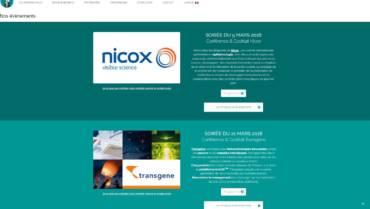 Biotech Agora :        2 conférences investisseurs en mars :  Nicox et Transgene