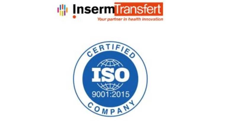 Inserm Transfert a obtenu la certification ISO 9001 v2015 pour toutes ses activités