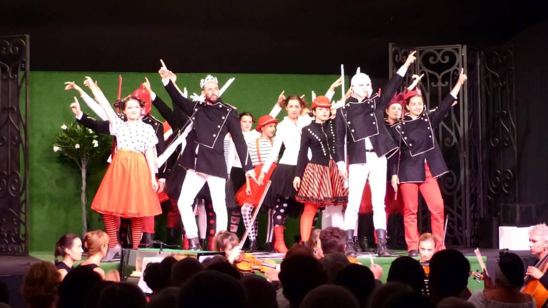 L'opérette d'Offenbach «La Grande Duchesse» à Paris avec les Estivales de Puisaye